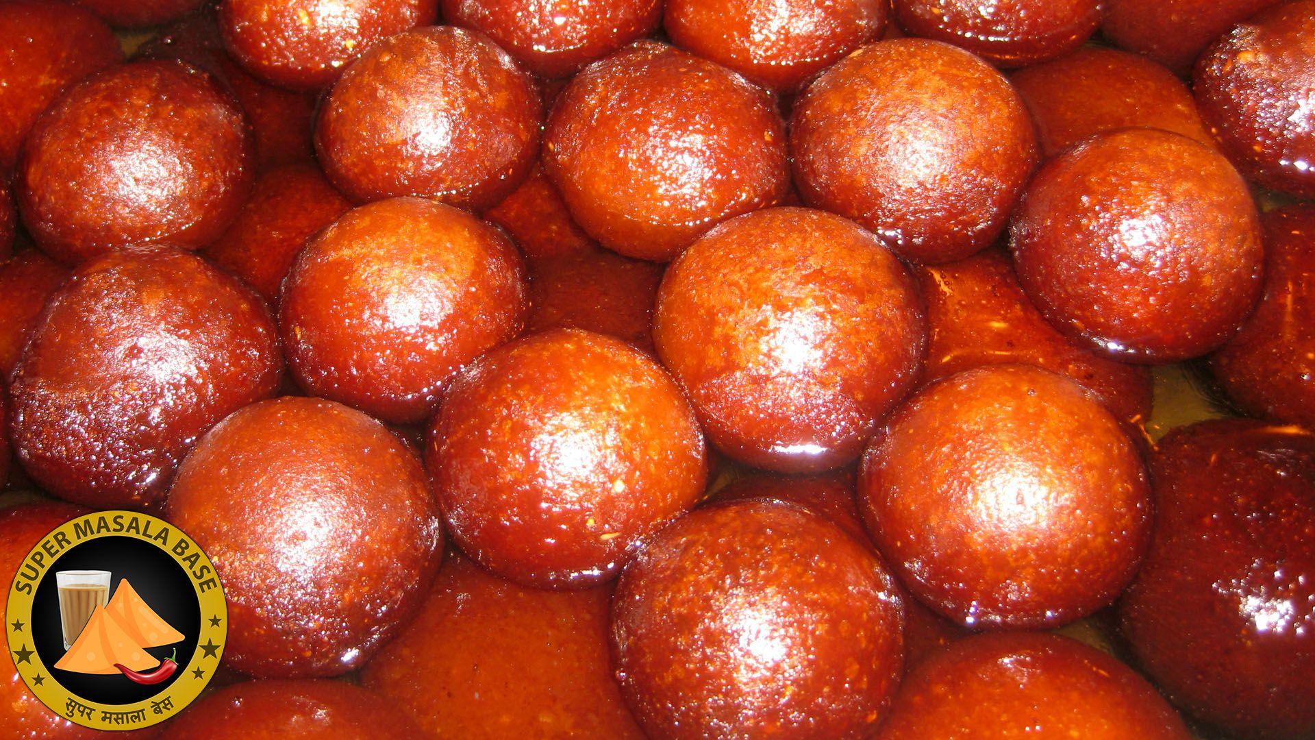 gulab jamun indian sweet laal mohan mithai